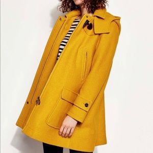 Joules Wool Duffle Coat 8 Jacket Brand Name Hooded